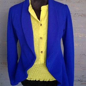 Royal Blue Blazer NWT